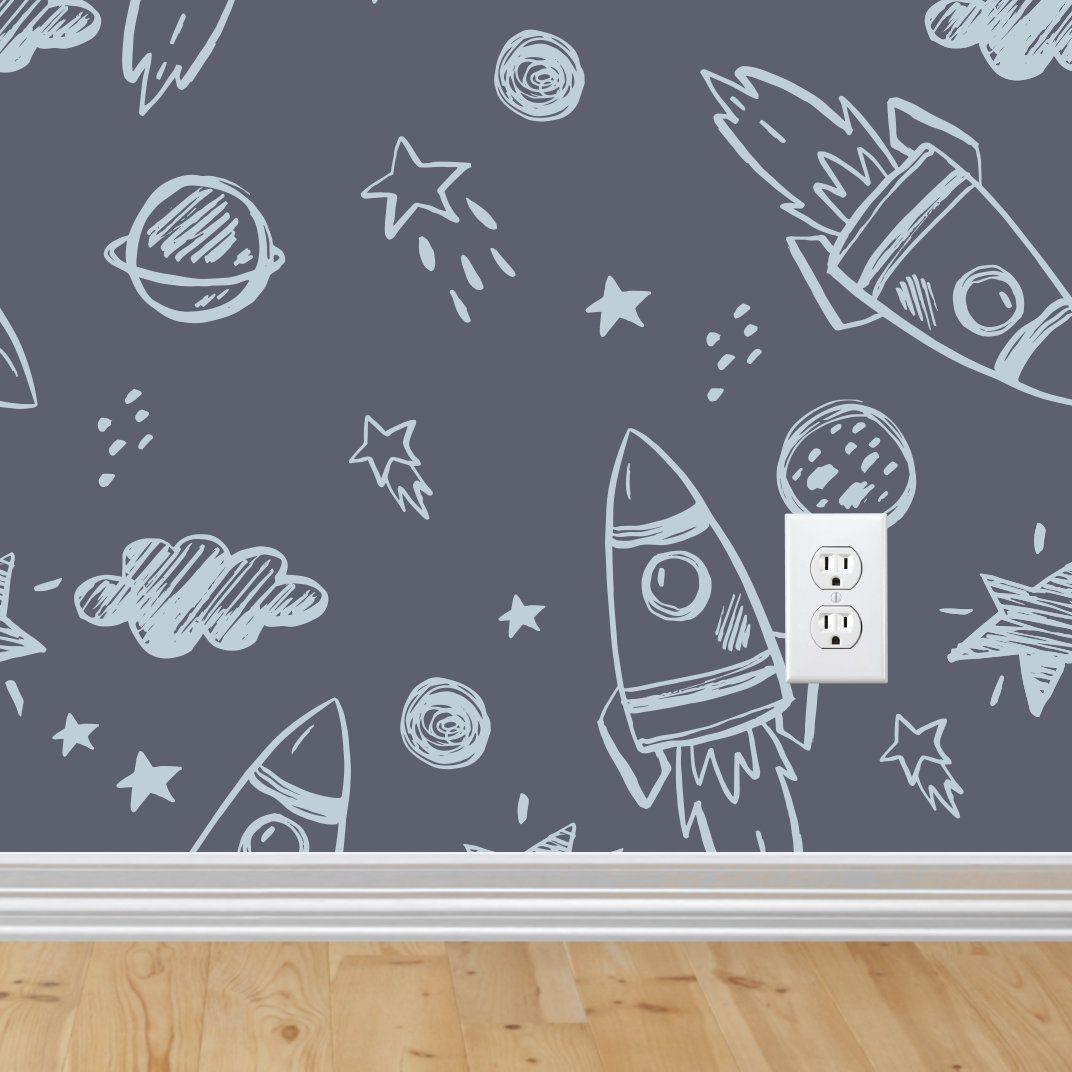 41+ Rocket Wallpaper For Kids Gif
