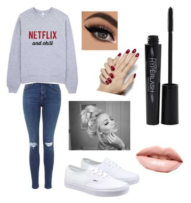 """""""Untitled #5"""" by mina-mcgill on Polyvore featuring Vans, LASplash and Smashbox"""