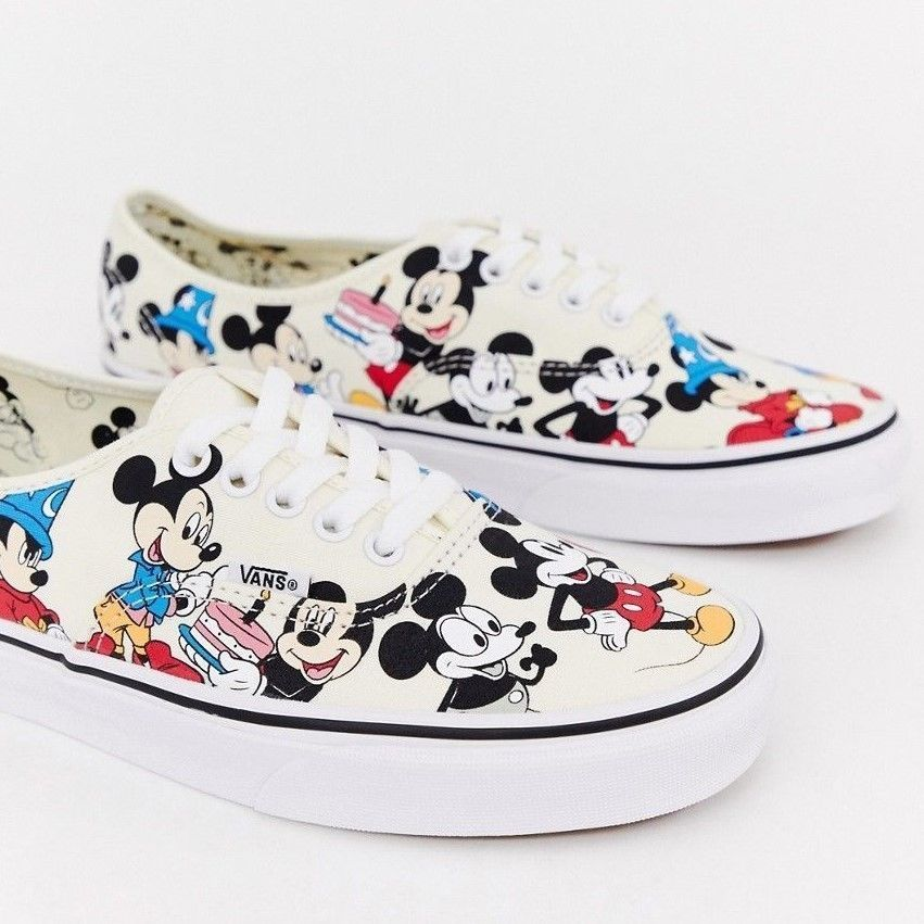 Vans Disney Mickey Mouse 90th Birthday Sneakers Shoes