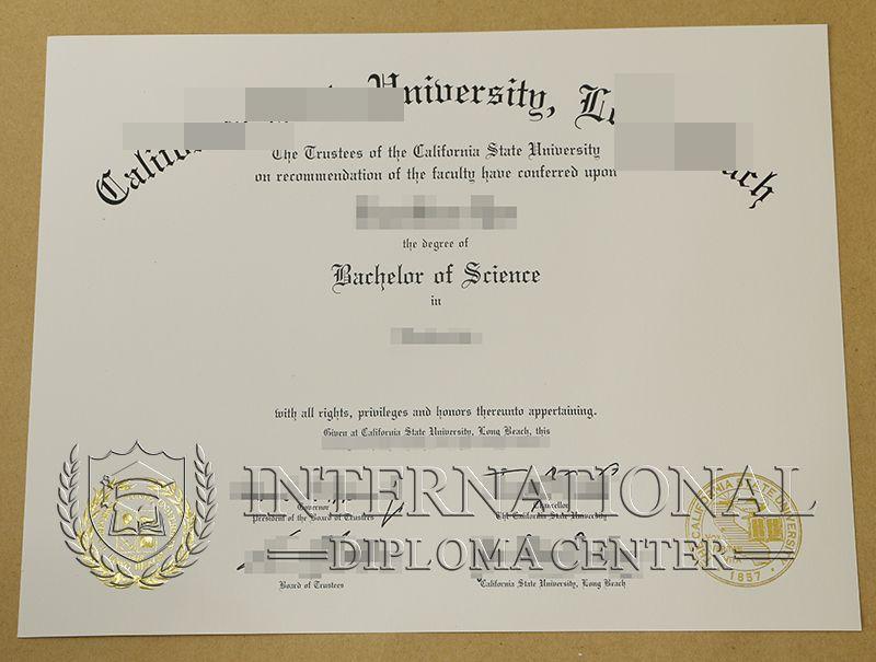 Csulb Diploma California State University Long Beach Diploma Buy