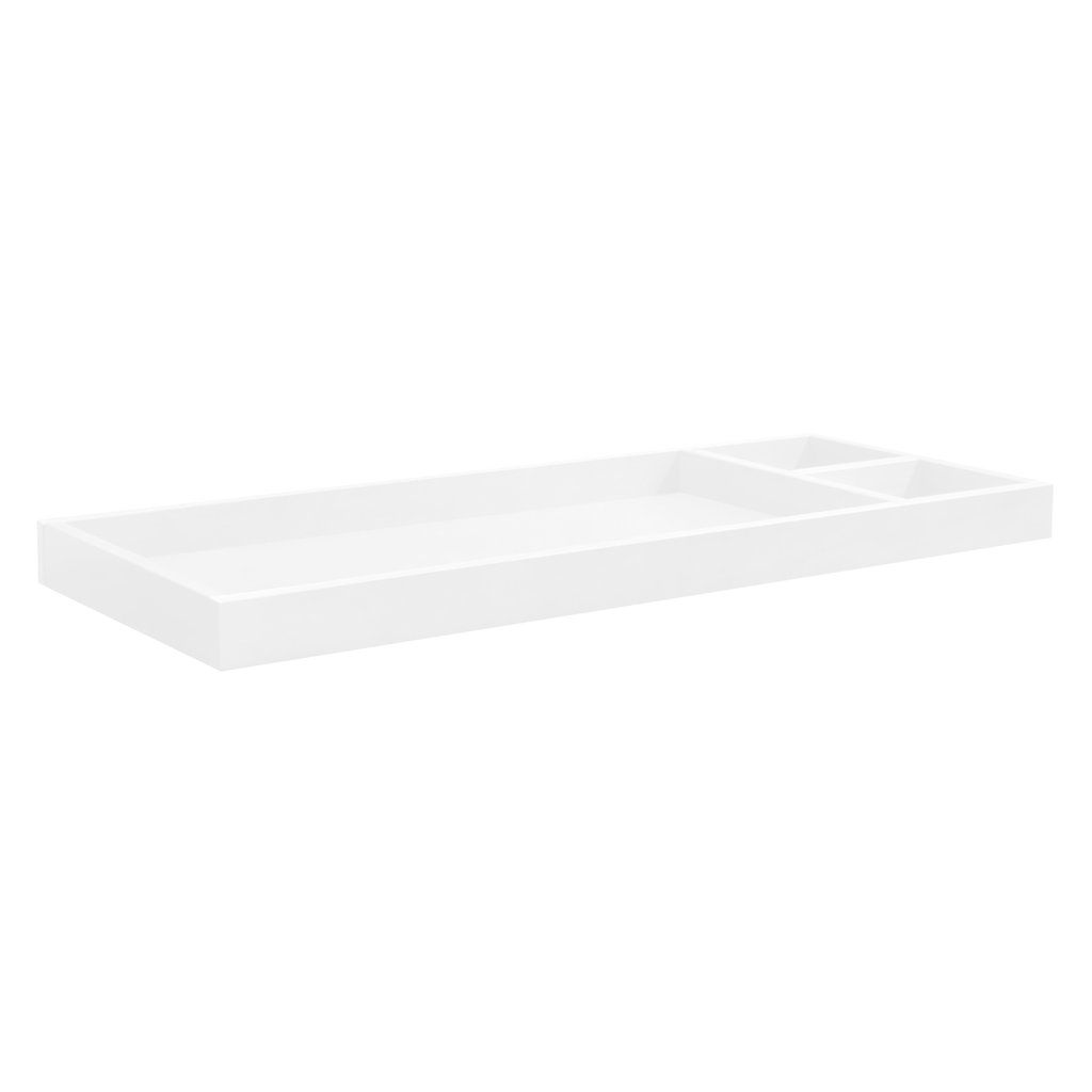 M0619w Universal Wide Removable Changing Tray In White Finish Babyletto Changing Table Topper Double Dresser Nursery Works [ 1024 x 1024 Pixel ]