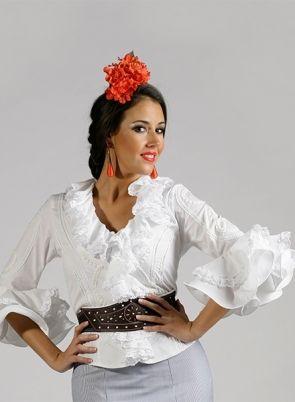 f7526ad5e Blusas Flamencas Daniela en 2019