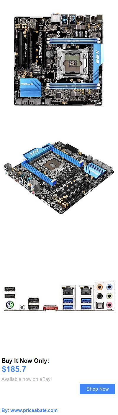 computer parts: New Asrock X99m Extreme4 Lga2011-V3/ Intel X99/ Ddr4/ Quad Crossfirex And Quad BUY IT NOW ONLY: $185.7 #priceabatecomputerparts OR #priceabate