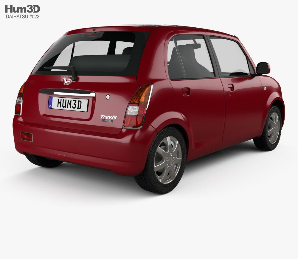 3d Model Of Daihatsu Trevis 2006