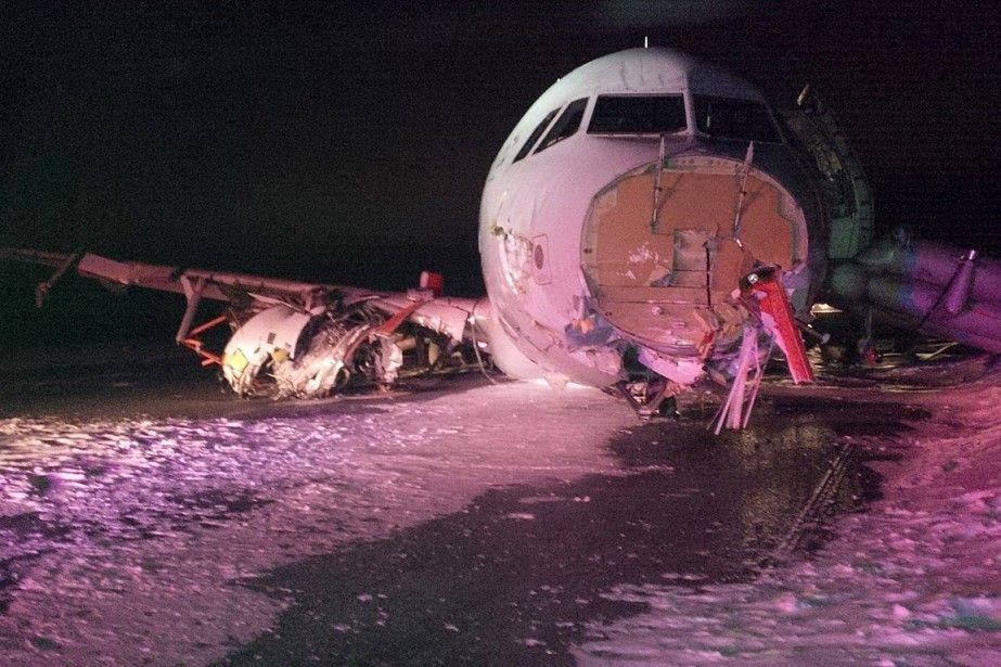 Atterrisage raté à Halifax les passagers ont été «très