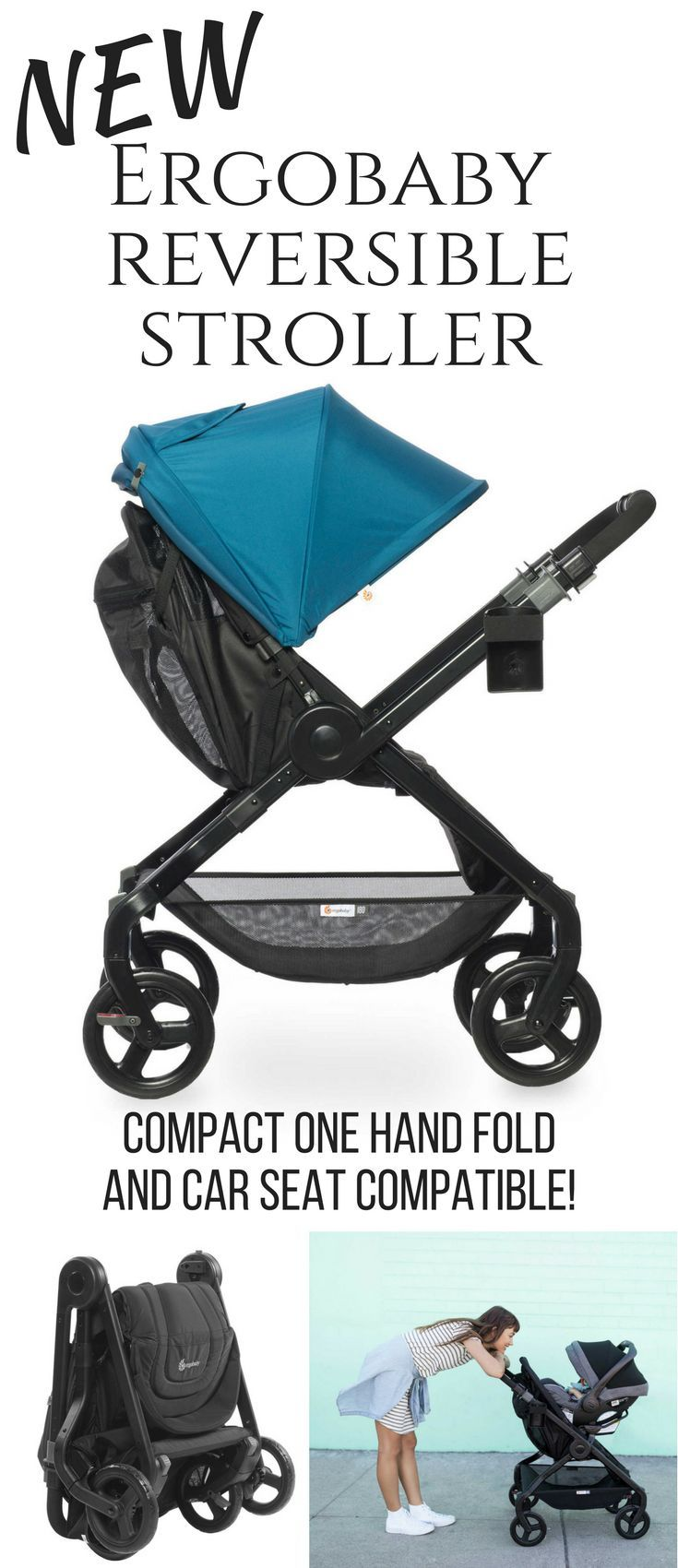 All you could want in a stroller! Lightweight, one hand