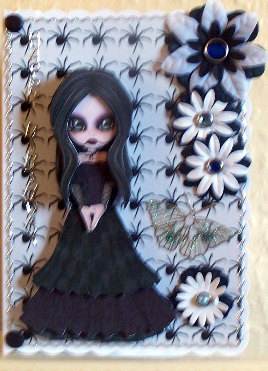 gothic craft ideas birthday card grandkids card ideas 2103