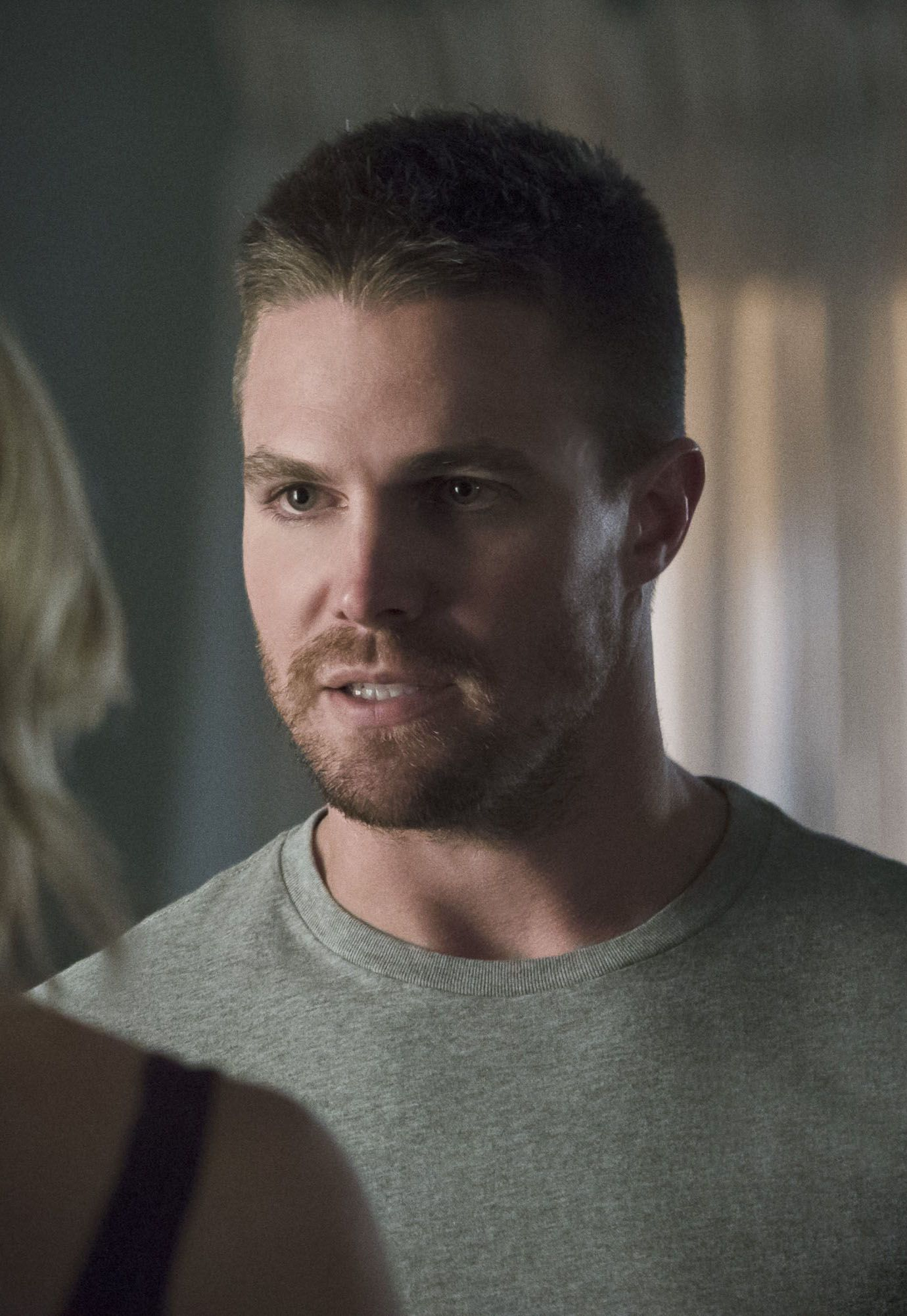 Oliver Queen Tattoo From Constantine: Katie Cassidy, Stephen Amell