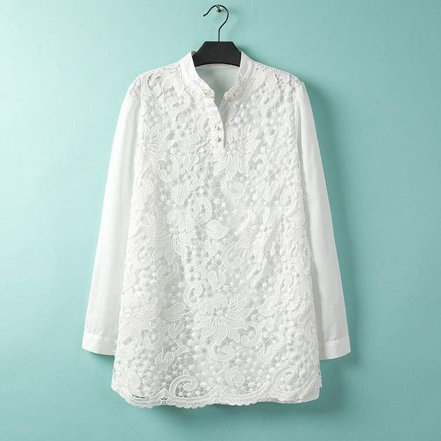 2016 Fashion women blouses print shirt women tops loose plus size chiffon shirt blusas X-3XL summer style