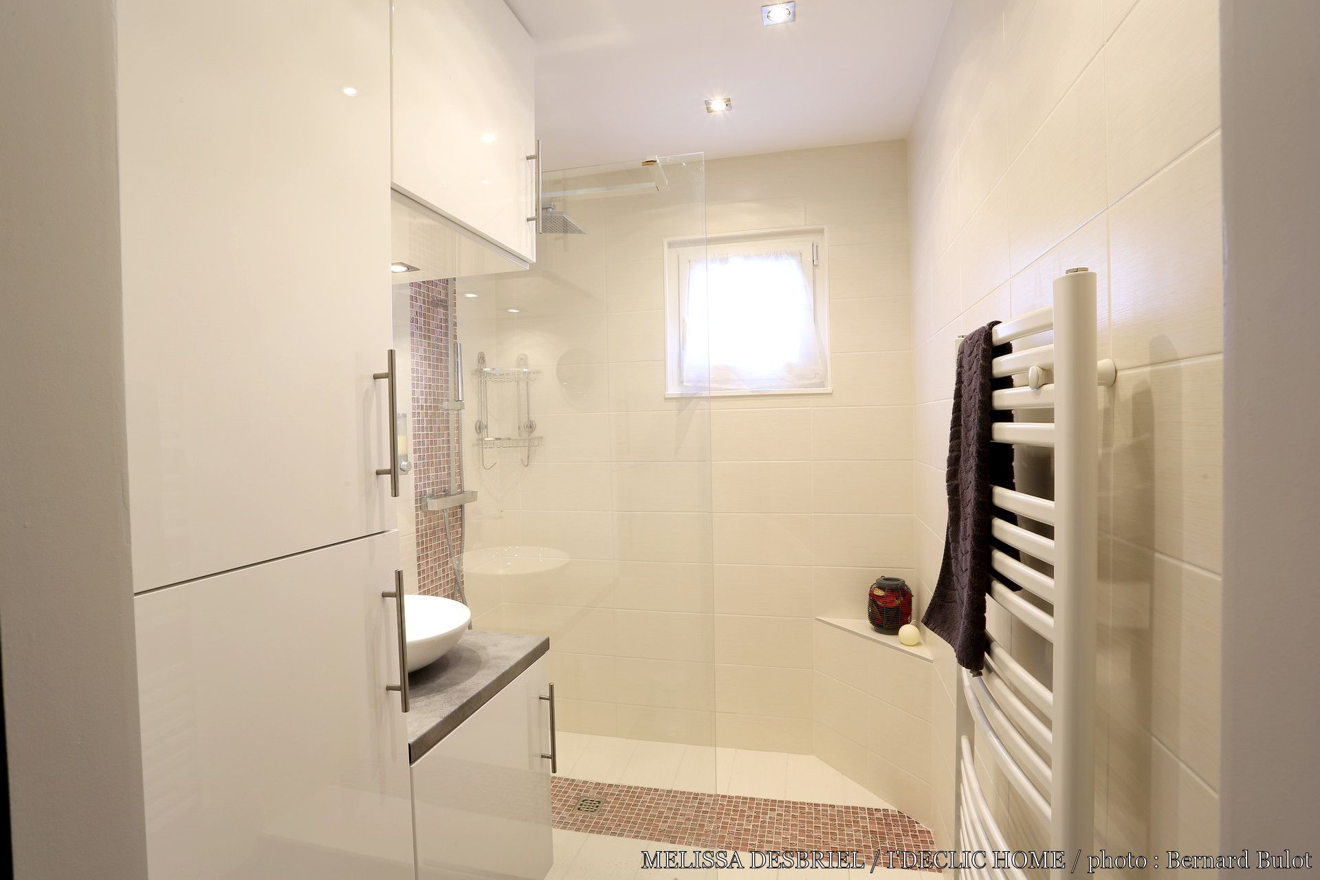 R novation d 39 une salle de bains de 3m2 par m lissa - Salle de bain 3m2 ...