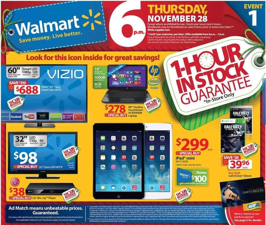 Walmart Black Friday Deals Start Thurs 8pm Online Walmart Black Friday Ad Black Friday Tv Deals Black Friday Ads