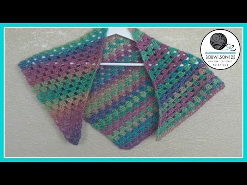 Crochet Unforgettable Scarf Tutorial - YouTube | crochet items ...