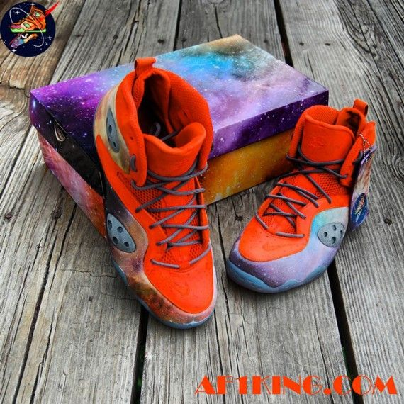 pretty nice b767b fd4f4 nike zoom rookie big bang alike customs gourmetkickz 9 570x570 Nike Zoom  Rookie Big Bang Alike Customs by Gourmet Kickz
