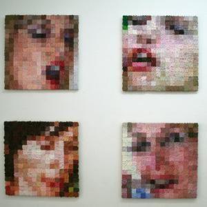 œuvres de Christophe Baudson | Pixel art, Histoire de l'art, Les oeuvres