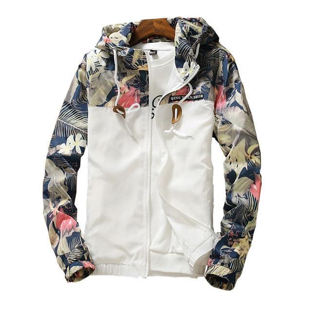 af9ea00734f08 Women s Hooded Jackets 2018 Summer Causal windbreaker Women Basic Jackets  Coats Sweater Zipper Lightweight Jackets Bomber Famale