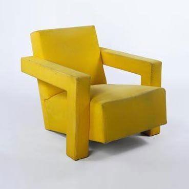 Design Stoelen Utrecht.Utrecht Chair By Gerrit Thomas Rietveld For Metz Co 1935 Fauteuil