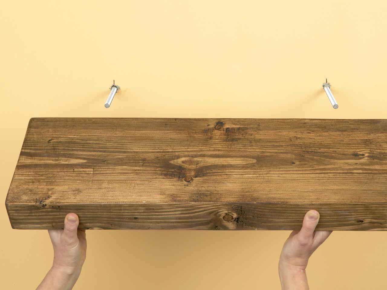 How To Create Custom Shelves Floating Shelves Diy Diy Shelves