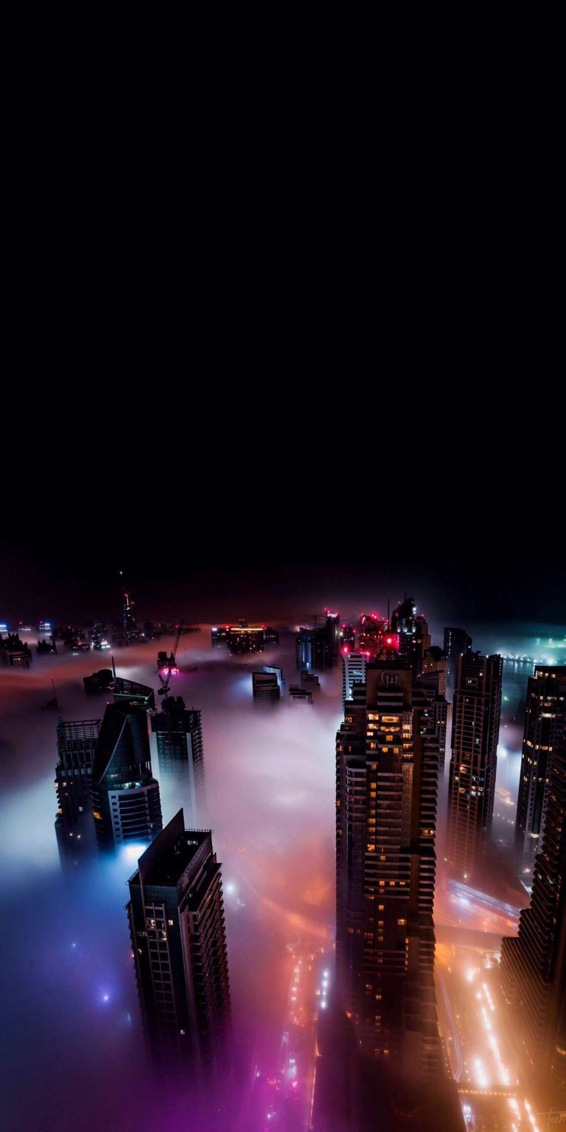 City At Night Iphone Wallpaper In 2019 City Wallpaper