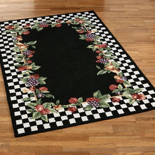 Sonoma Hand Hooked Fruit Area Rugs Pretty Little Camper Rugs