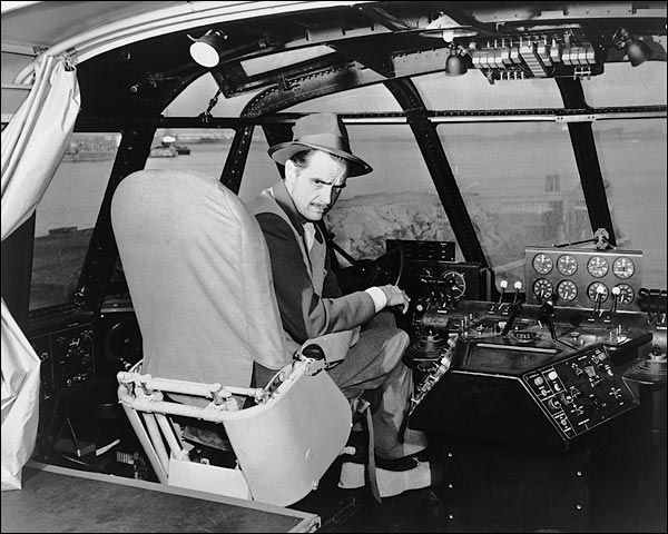 Aviator Howard Hughes Spruce Goose Cockpit Photo Print for Sale | Vintage aircraft, Howard hughes, Aviation