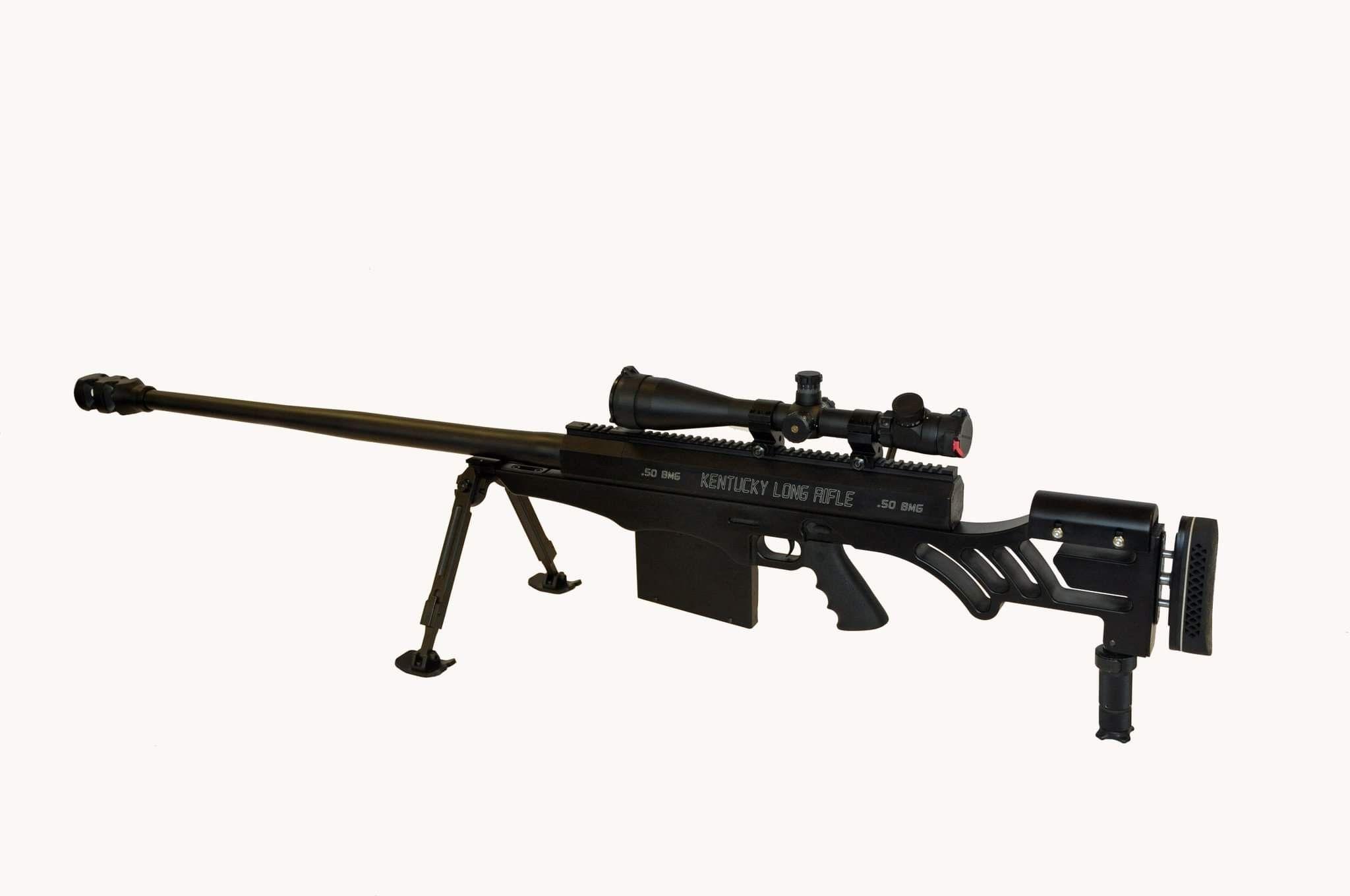 The Kentucky Long Range Rifle 50 BMG, Caliber: 50 BMG