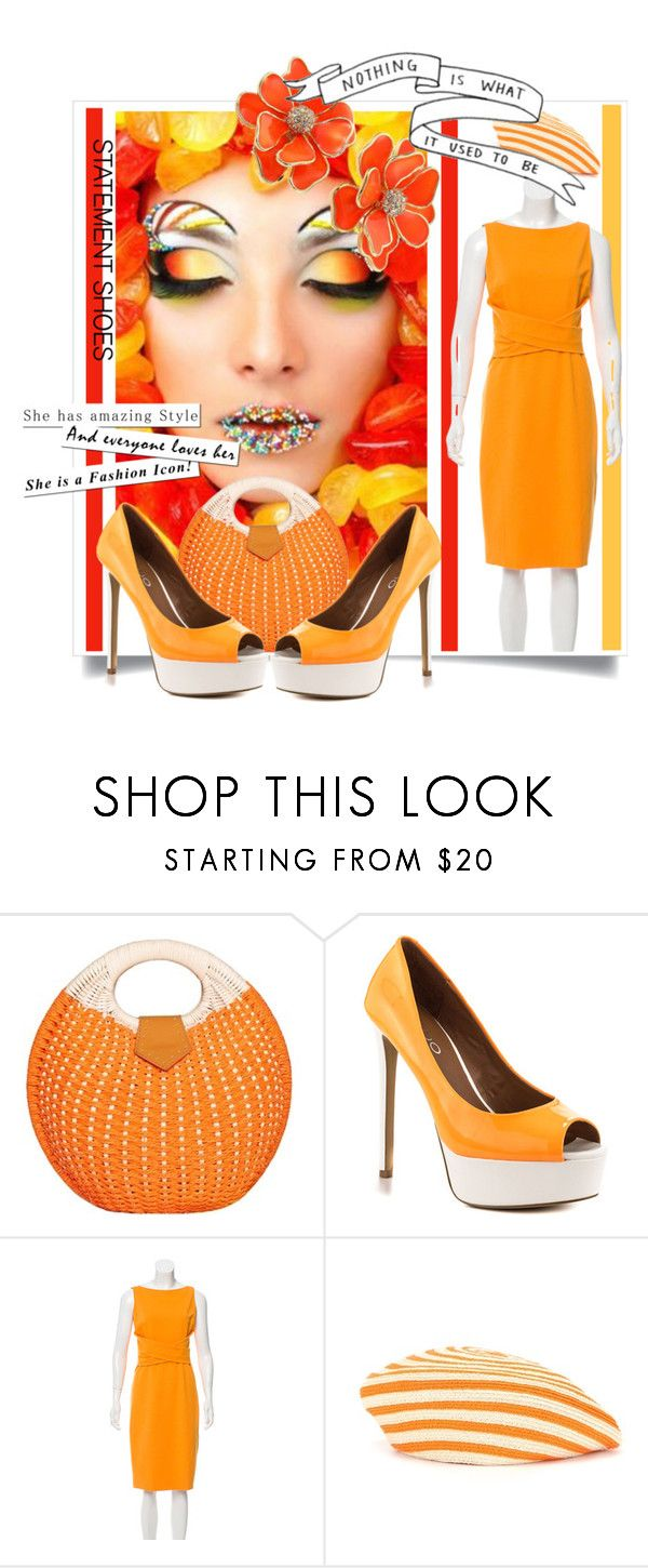 """""""Double Take: Statement Shoes"""" by kari-c ❤ liked on Polyvore featuring ALDO, Akris Punto, Gucci, Kenneth Jay Lane and statementshoes"""