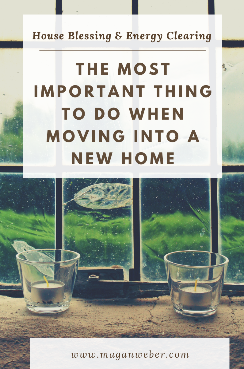 Smudging is a beautiful ceremony to bring to bring positive vibes into your new move after moving (or anytime)   Read more to find out what you need to know about smudging, house energy clearing, and blessing your new home.  #moving #goodvibes #positiveenergy #newhome