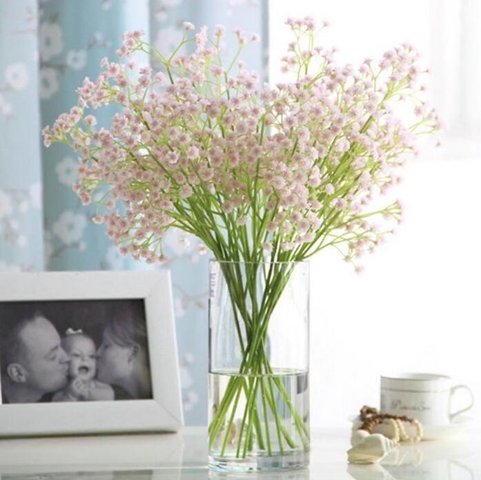 Wedding Bouquets Without Flowers: 20pcs/lot Artificial Flowers (without Vase) Bride Bouquet