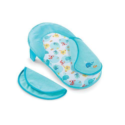 3ae765bc069 Babies R Us Folding Bath Sling with Warming Wings - Sea