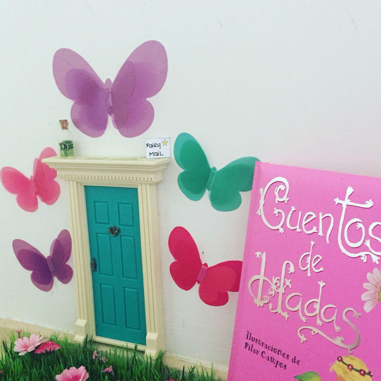Our lil fairy door  Lil fairy door  Pinterest  Lil fairy door