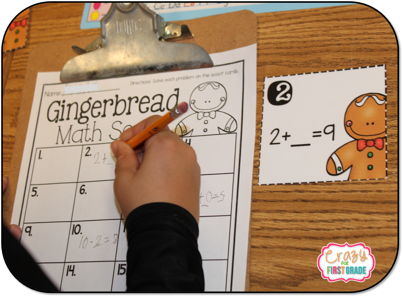 Freebie Math Activities For The Holidays