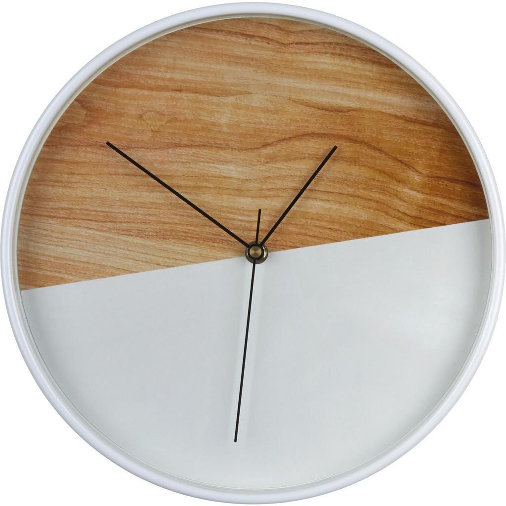 Wanduhr Agnes Natur Weiss Wanduhren Uhren Wande