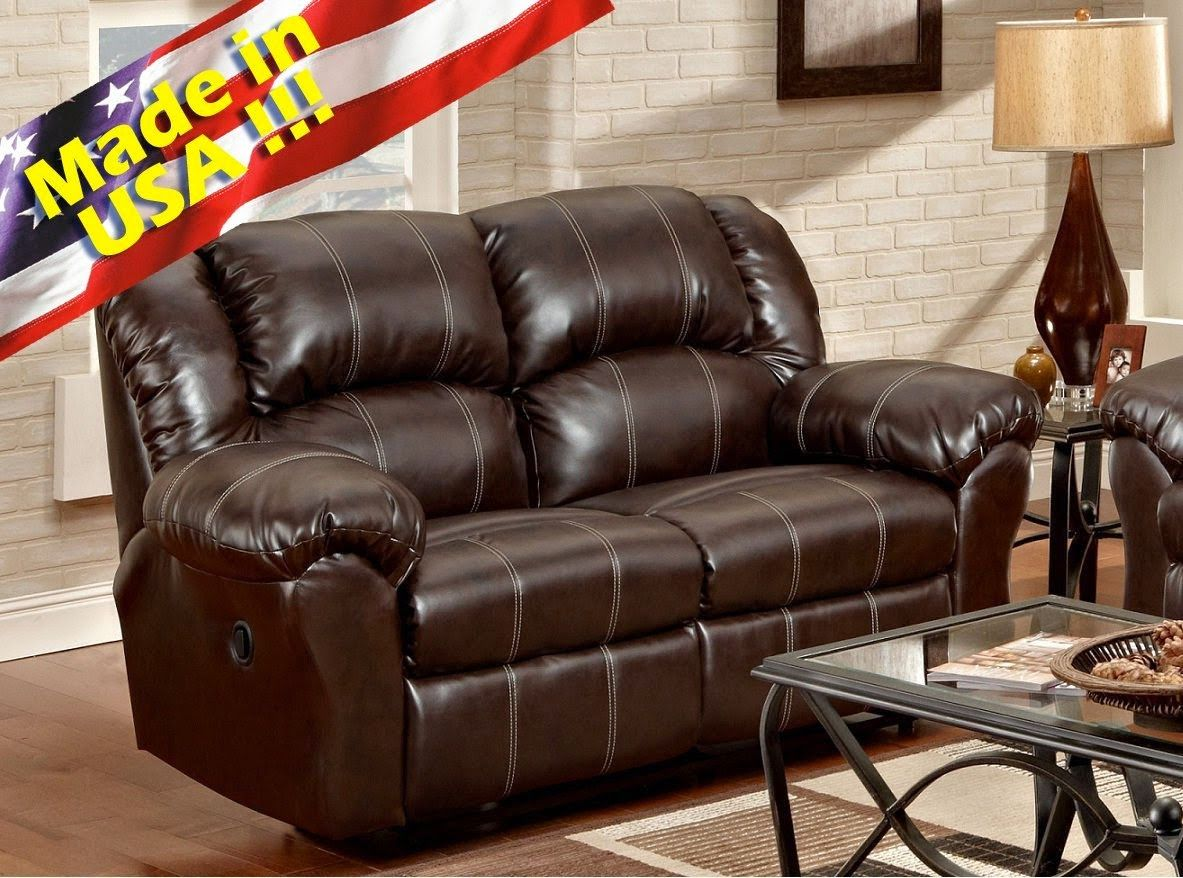 Lane Leather Sofa And Loveseat Antonio Citterio Charles Replica Reclining Baci Living Room