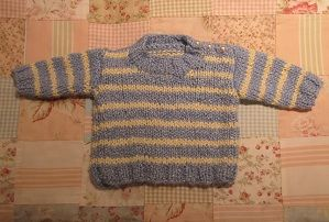 a167461c2fb9 Baby sweater pattern by Words to Knit By
