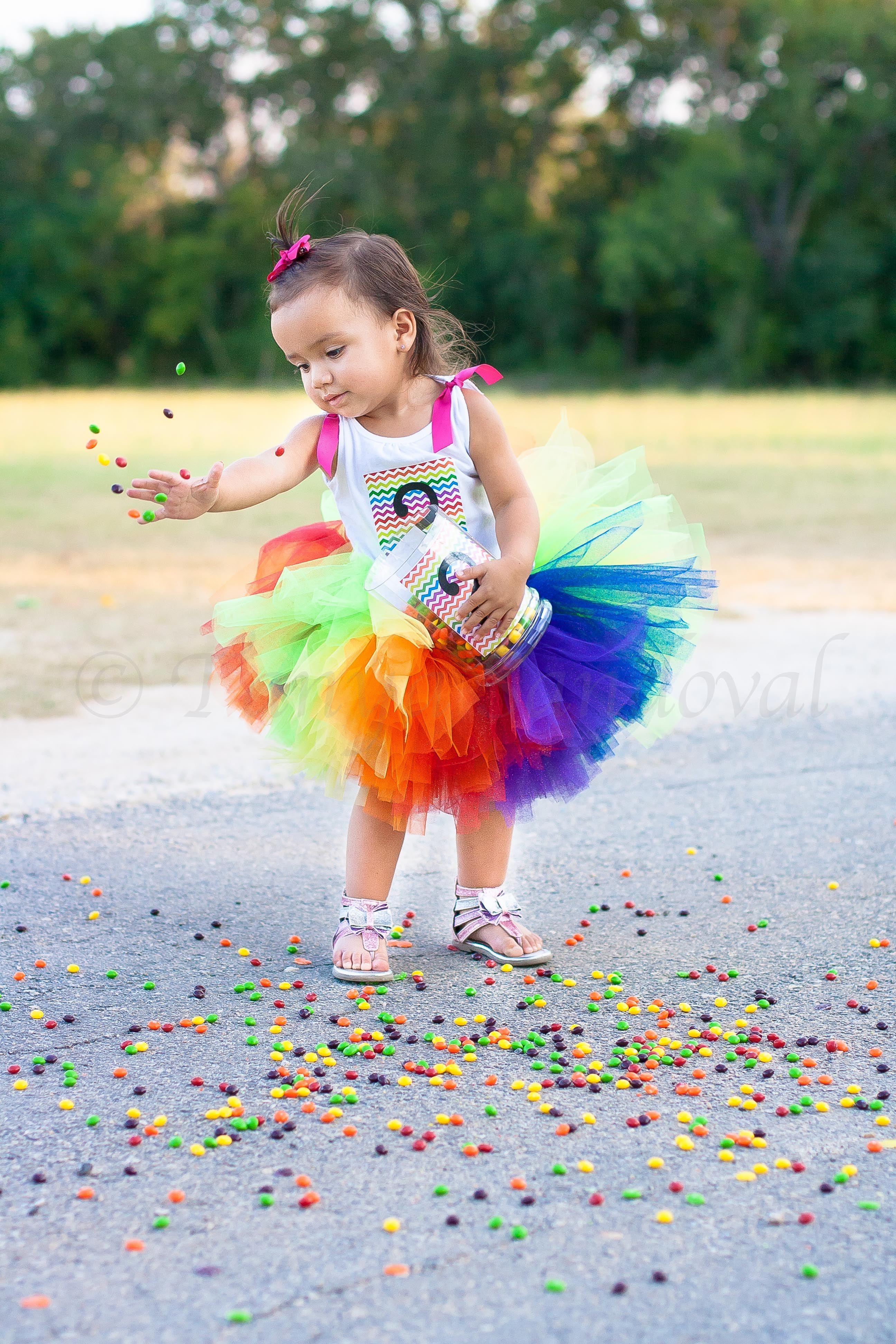 CHILDREN BIRTHDAY WEDDING PARTY DECOR RAINBOW SKITTLES BALLOONS easy KIT