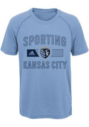 e710aaf3 Sporting Kansas City Kids Light Blue Forward T-Shirt | MLS ...