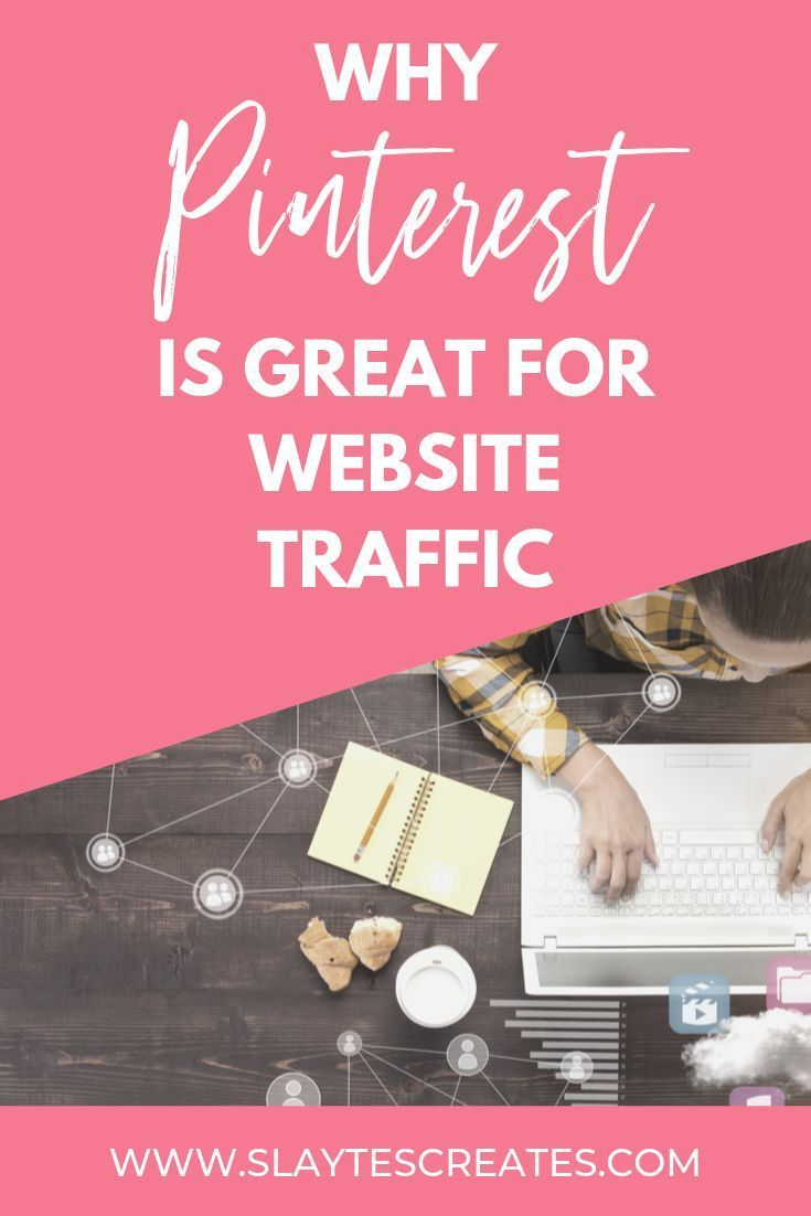 Find why Pinterest is so great for website traffic. Click
