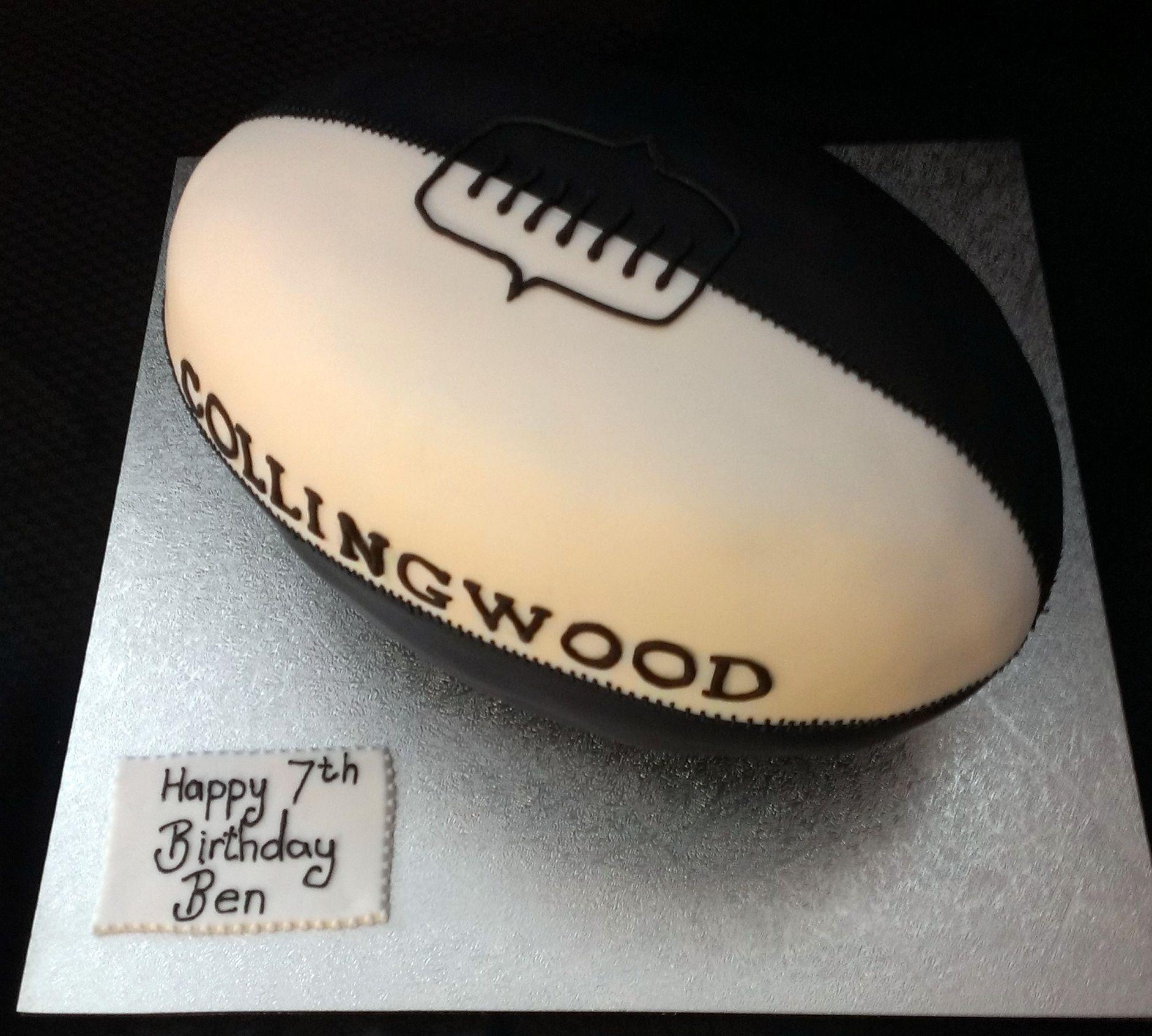 3d Afl Football Cake Football Cakes Pinterest Cake
