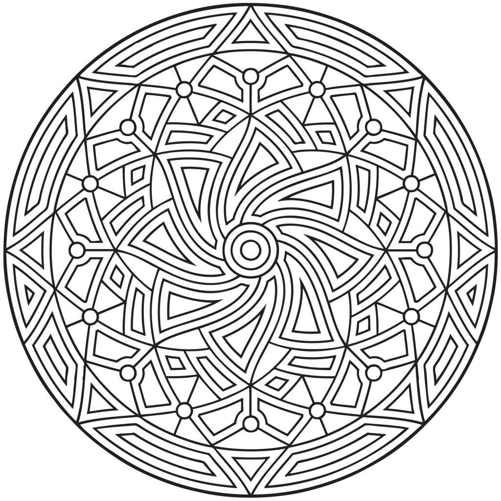 Free Printable Geometric Coloring Pages For Kids Geometric Coloring Pages Pattern Coloring Pages Mandala Coloring Pages