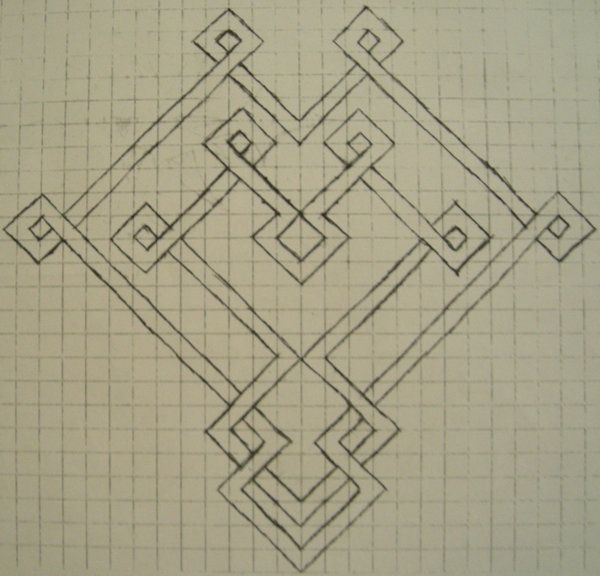 Graph Paper Drawing Designs Best 1 - Celtic Knot Designs On Graph