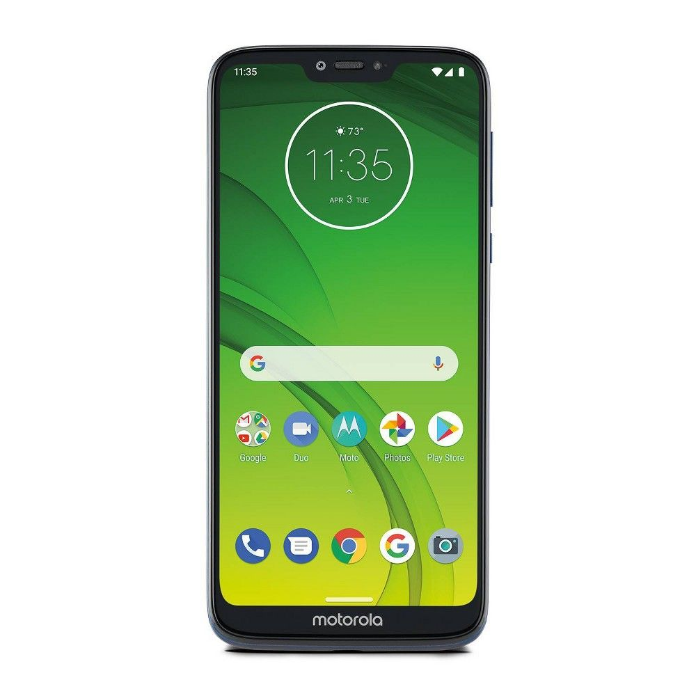 Consumer Cellular Postpaid Moto G7 Power 32gb Blue Cellular Power 32gb