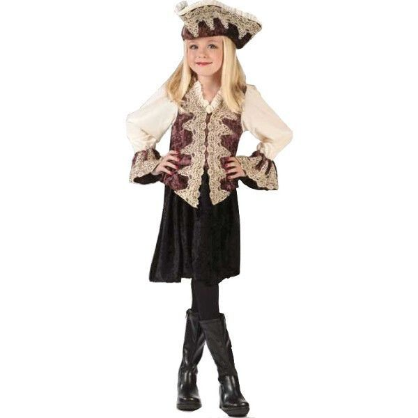 Childs Royal Pirate Lady Costume #diypiratecostumeforkids