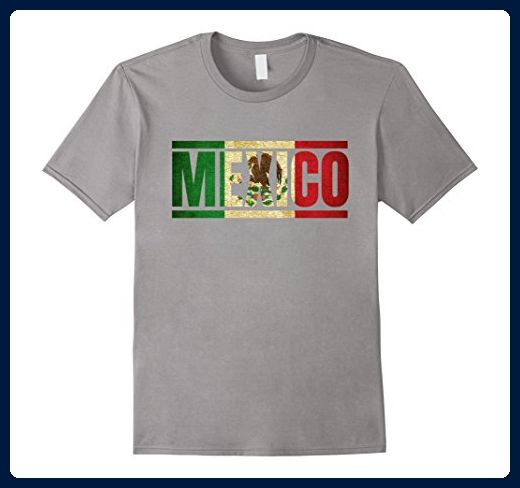 Mens Mexico Retro T-Shirt - Mexican Football Jersey XL Slate - Retro shirts  ( Amazon Partner-Link) bbf9fe2eb