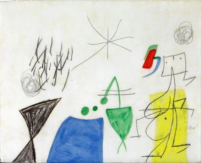 Joan Miró Paysage animé, 1977
