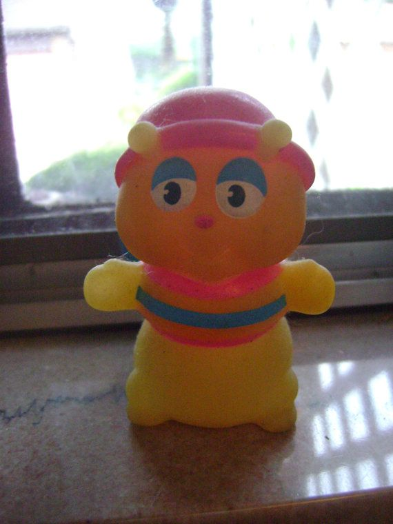 vintage glo worm 80s toy on Etsy, $6.00