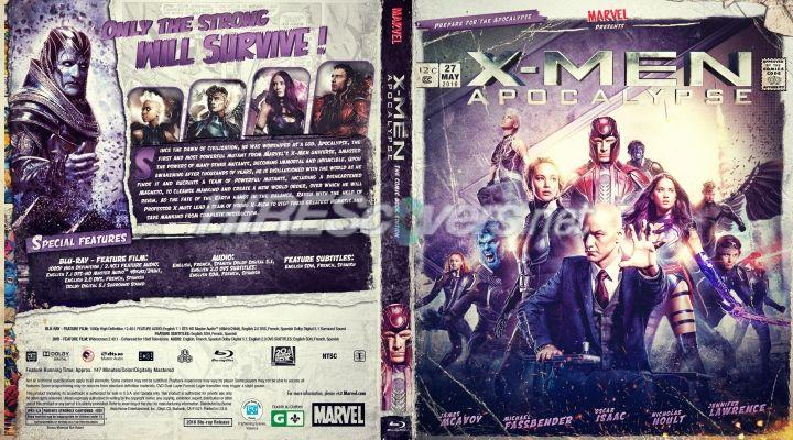 X Men Apocalypse X Men Apocalypse Custom Dvd Movie Covers