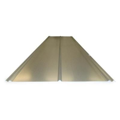 Gibraltar Building Products 12 Ft 5v Crimp Galvanized Steel 29 Gauge Roof Panel 13343 The Home Depot Roof Panels Metal Roofing Prices Galvanized Steel