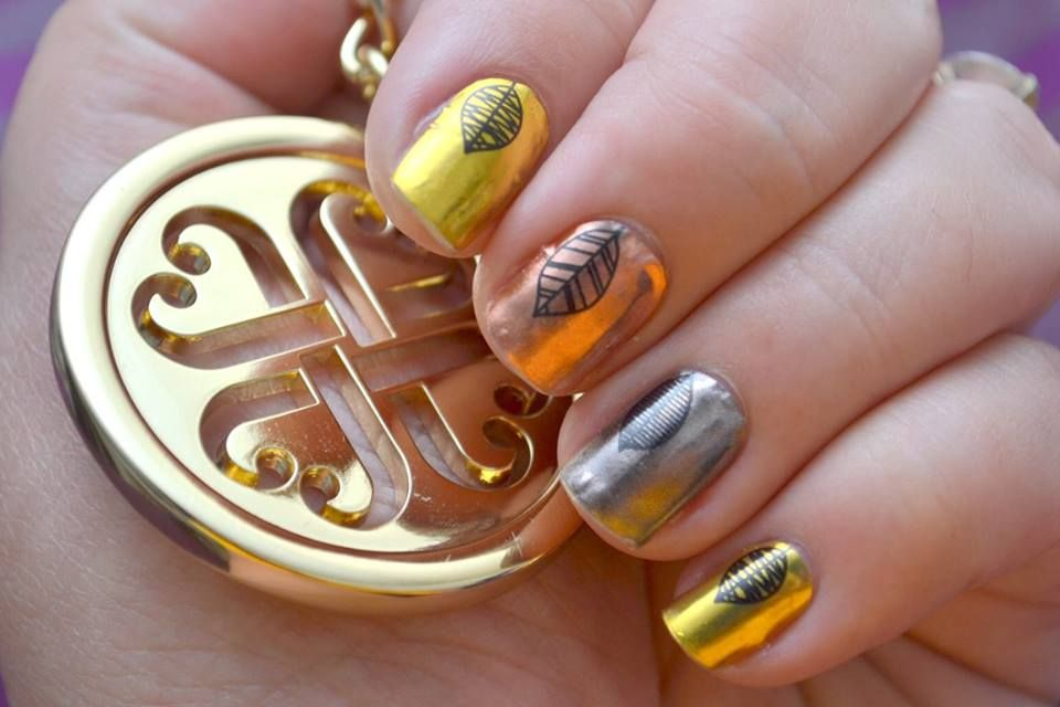 Fall Fancy topped with TruShine base & top coats  FALL FANCY WRAPS: https://kkreations11.jamberry.com/us/en/shop/products/fall-fancy#.Vj2h7LerTDc  TRUSHINE GEL ENAMEL SYSTEM: https://kkreations11.jamberry.com/us/en/shop/products/trushine-gel-enamel-system#.Vj2iHberTDc