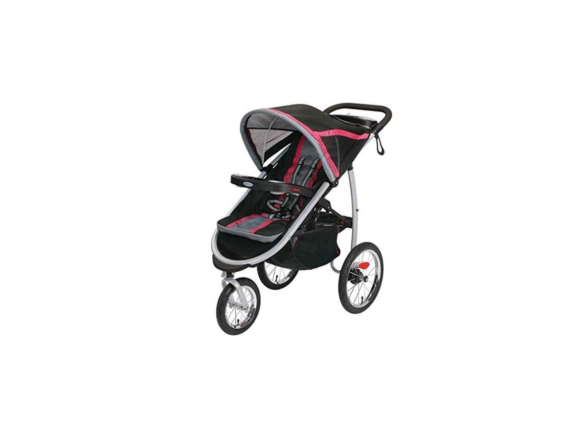 This Graco FastAction Fold Jogger Click Connect Stroller Fits All Infant Car Seats Make Traveling Easy