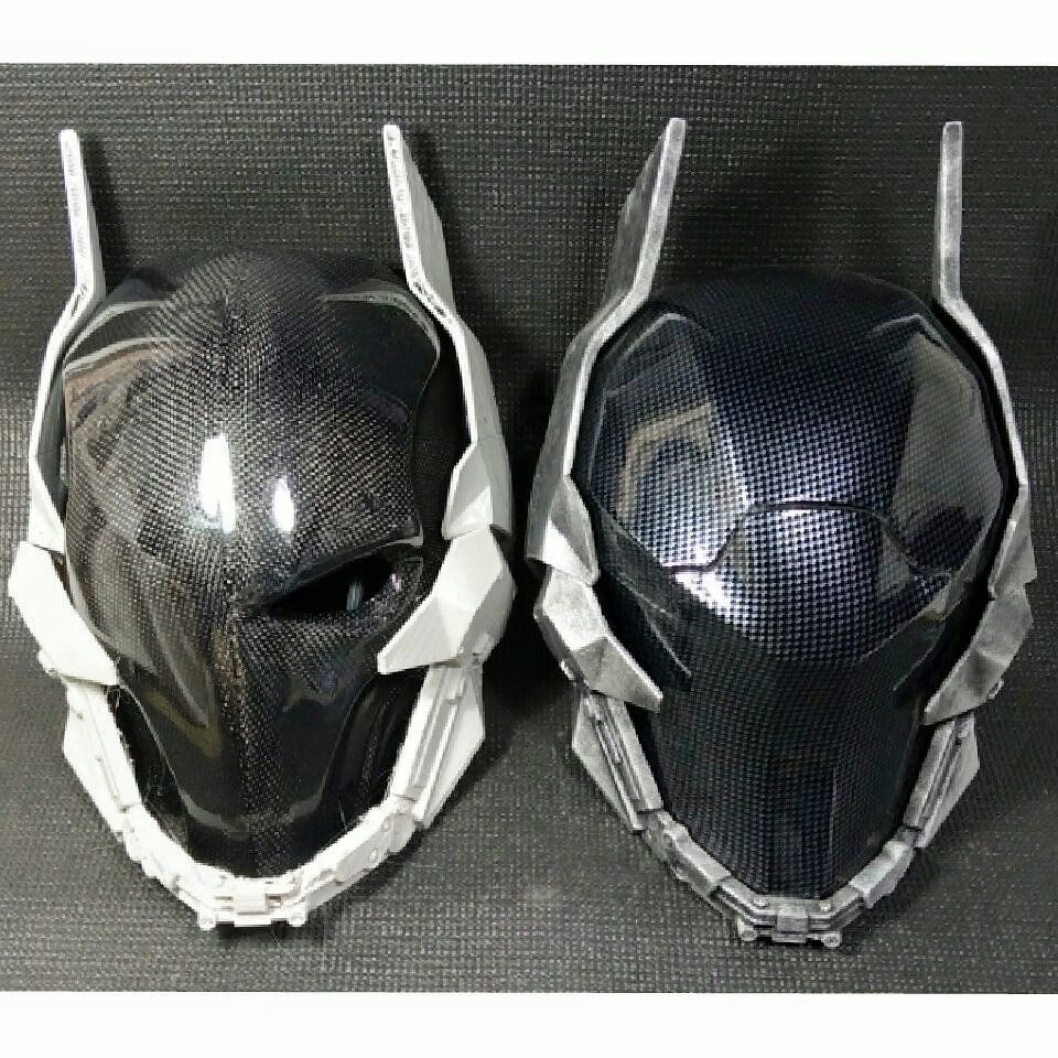Carbon fiber masks are coming armor concept mask